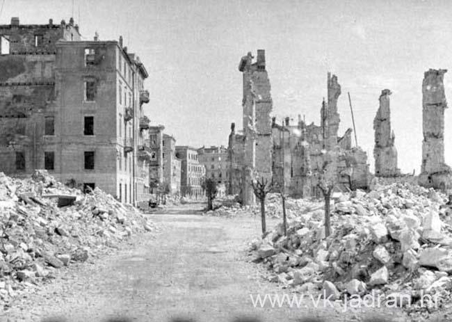Srueni Zadar Nakon II Svjetskog Rata